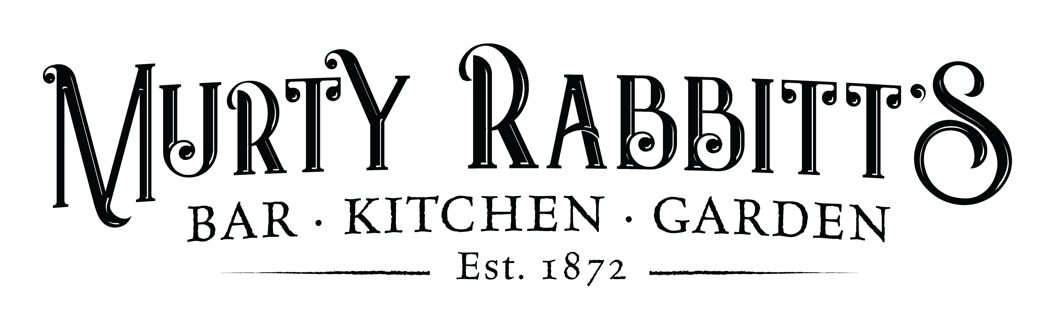 BLACK MURTY RABBITTS LOGO 2018