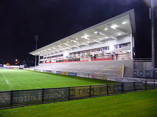 Ravenhill new stand